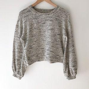 MADEWELL Texture & Thread Long Sleeve Shirt XS